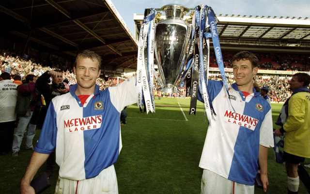 Alan Shearer Chris Sutton Blackburn