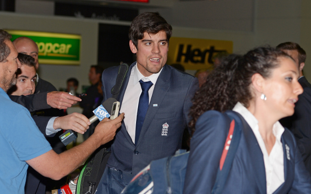 England team arrives in Australia for return Ashes series
