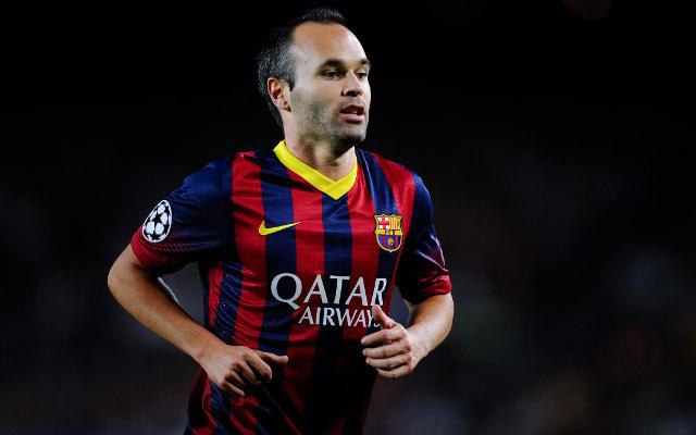 Andres Iniesta FC Barcelona