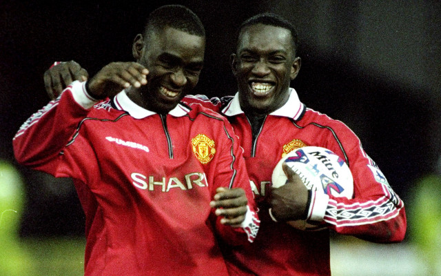 Andy Cole Dwight Yorke Manchester United