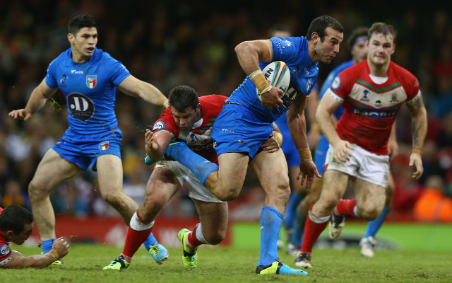 Italy earn first ever win at Rugby League World Cup