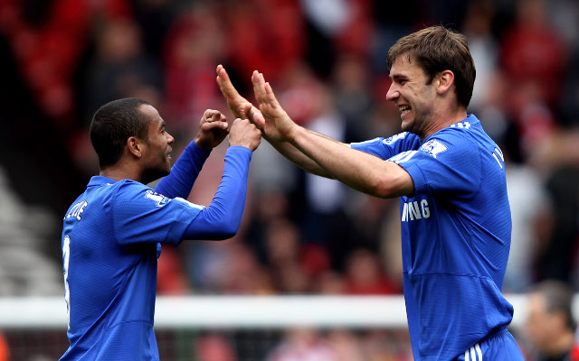 Ashley Cole Branislav Ivanovic Chelsea