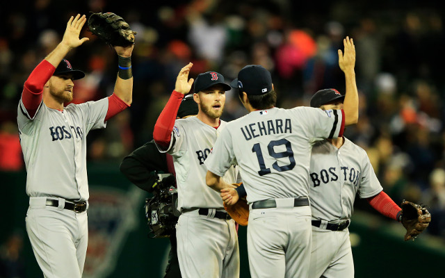 Boston Red Sox on the brink of going to World Series