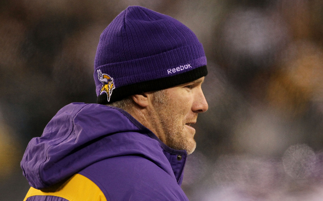 Minnesota Vikings QB wants to be like former Green Back Packers QB Brett Favre