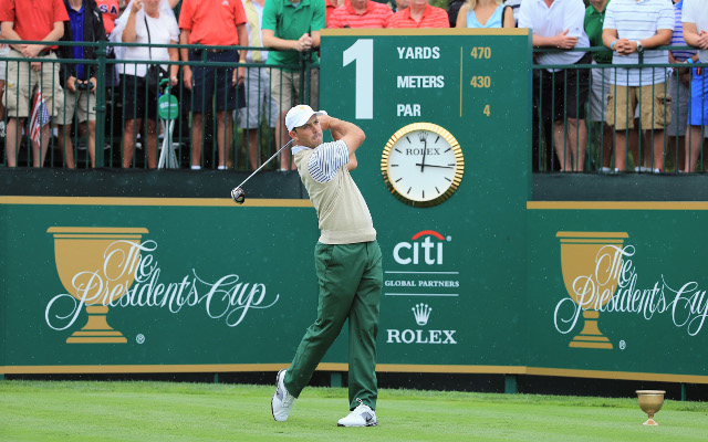 Internationals take early lead in Presidents Cup