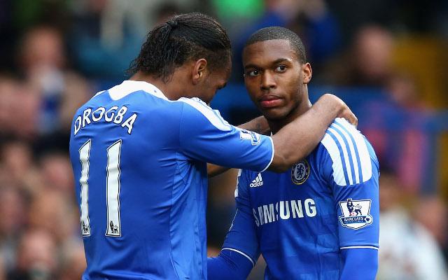 Didier Drogba Daniel Sturridge Chelsea