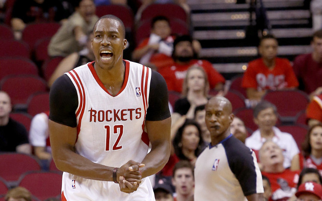 Dwight Howard says his Houston Rockets team-mates lack effort