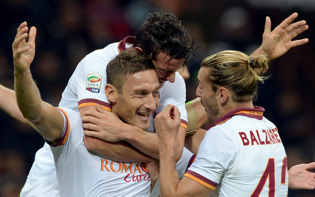 Paper Talk: Totti top of the class while Inter Milan want Pirlo