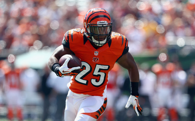 Cincinnati Bengals' Giovani Bernard predicted for 300 touches