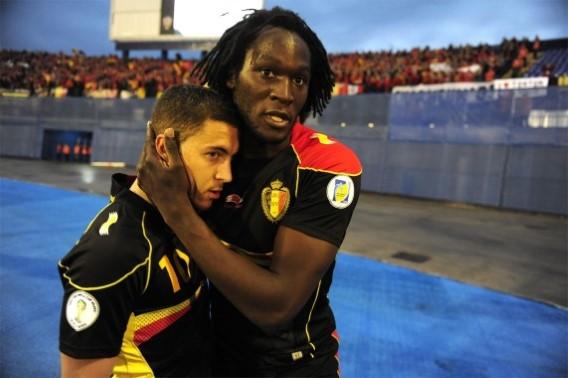 Hazard and Lukaku Belgium
