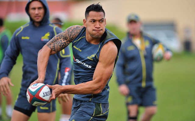 Israel Folau given a license to thrill for the Wallabies