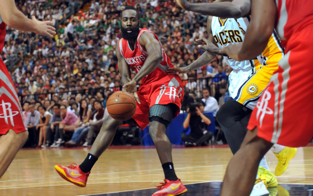 Houston Rockets star James Harden listed as day-to-day