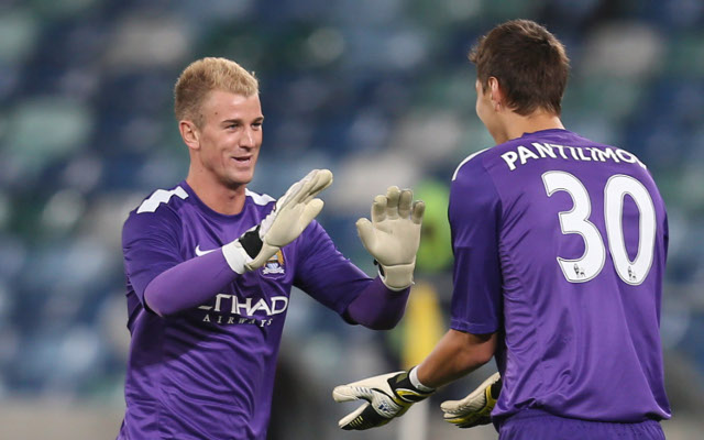 Joe Hart Costel Pantilimon Manchester City