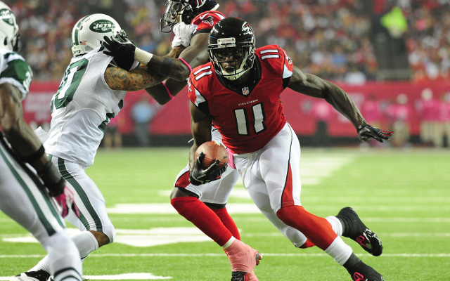 Atlanta Falcons wide receiver out for the rest of the NFL season