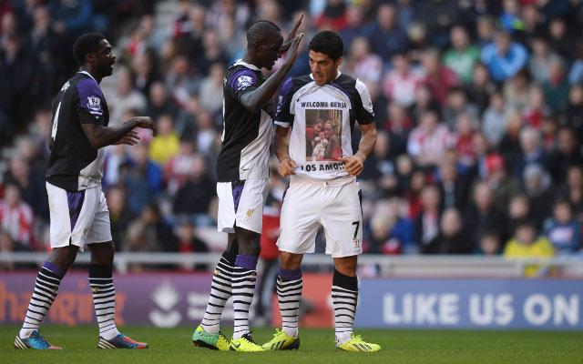 Kolo Toure Mamadou Sakho Luis Suarez Liverpool