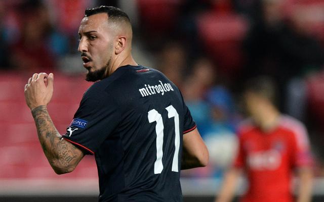 Rio Ferdinand thanks Fulham for signing Olympiakos striker Kostas Mitroglou