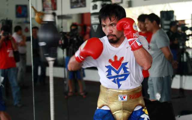Boxing legend Manny Pacquiao hell-bent on turning back the clock