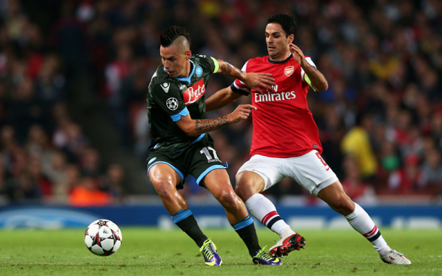 Arsenal could be forced to play Champions League match with Napoli behind closed doors