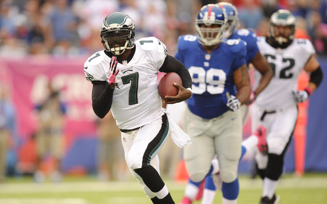 Philadelphia Eagles star Michael Vick suffers hamstring injury