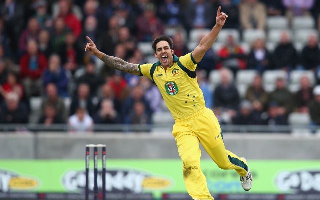 (Video) England v Australia: Poor Steven Finn becomes Mitchell Johnson's latest victim…