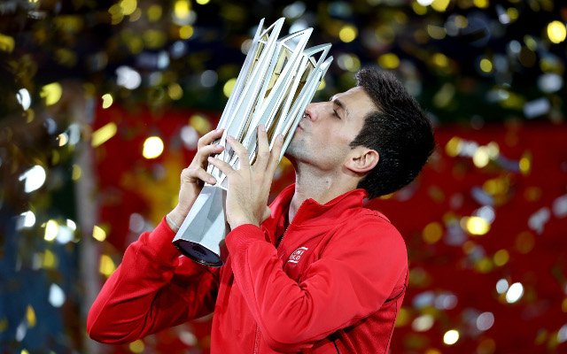 Novak Djokovic downs Juan Martin del Porto in for Masters title