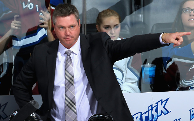Patrick Roy fined $10,000 on NHL coaching debut