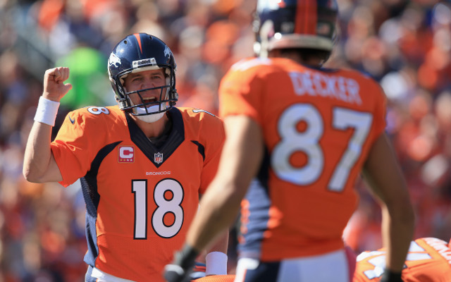 Peyton Manning to lead Denver against Indianapolis Colts
