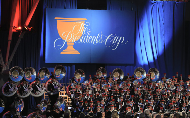 Presidents Cup pairings for four-ball matches