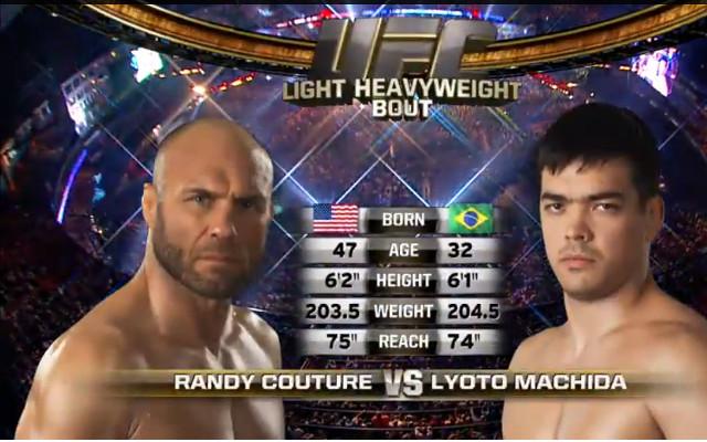(Video) UFC full fight: Lyoto Machida v Randy Couture