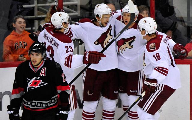 (Video) Full NHL highlights: Phoenix Coyotes v Carolina Hurricanes