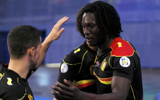 Romelu Lukaku double seals Belgium's World Cup spot