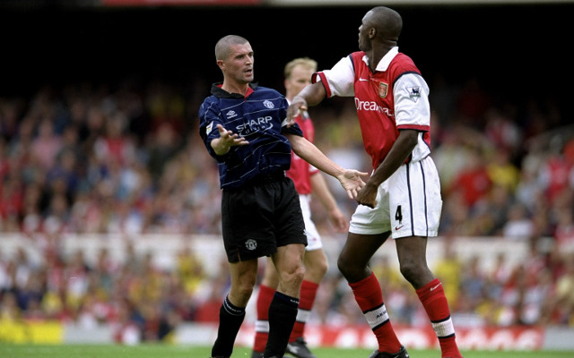 The 10 Premier League players with the most red cards with Arsenal and Manchester United rivals battling it out