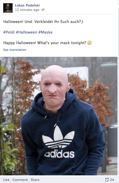 Podolski halloween