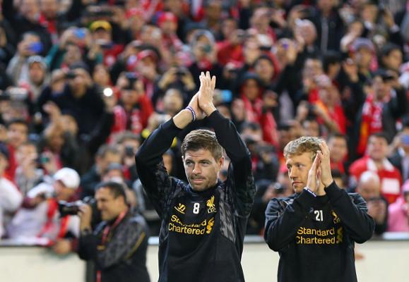 Steven Gerrard & Lucas Liverpool