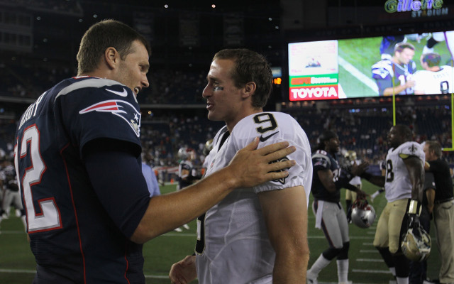 New England Patriots and Saints set to collide in the NFL