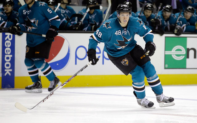 Tomas Hertl takes the NHL by storm this season