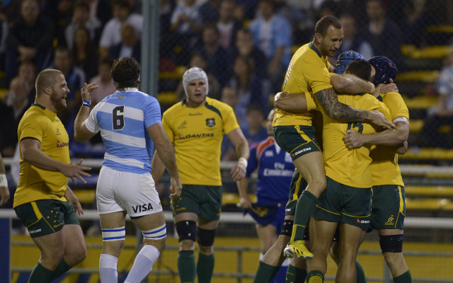Wallabies out to redeem themselves after mauling Argentina