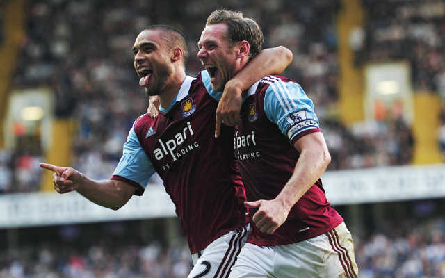 Aston Villa 0-2 West Ham: Full match highlights and report