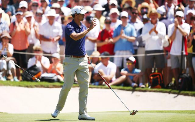 Adam Scott fired a course record 10-under at Australian Open