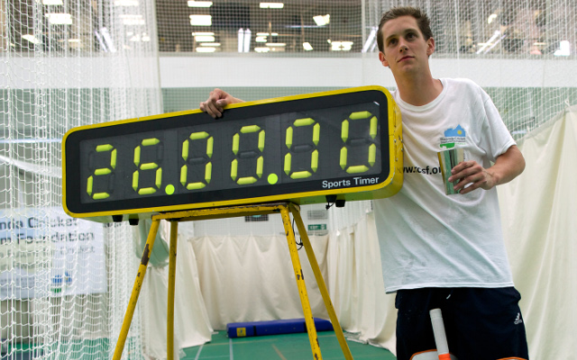 British man breaks world record by batting for 26 hours straight