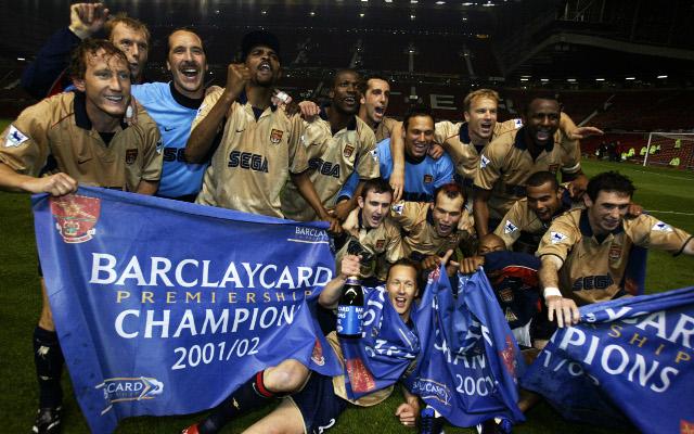 Arsenal title winners