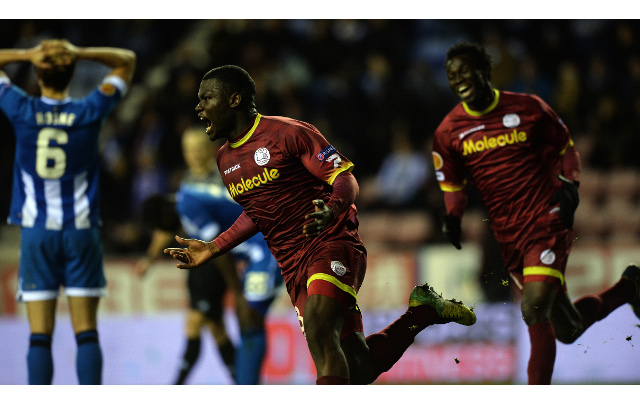 (Video) Wigan Athletic 1-2 Zulte Waregem: Europa League match report and highlights