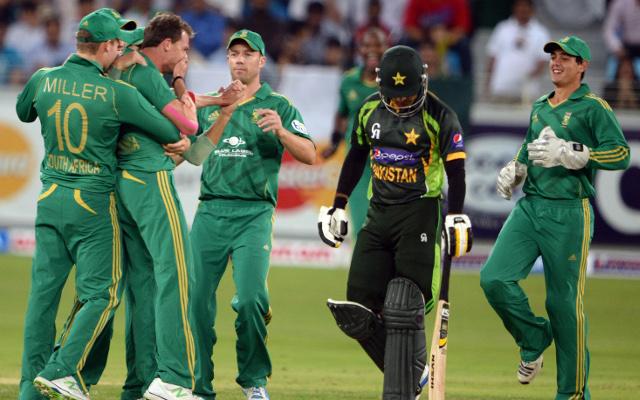 Dale Steyn regrets making fun of Pakistan captain's dismissal