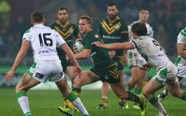 INJURY BLOW: Kangaroos playmaker in doubt for must-win Four Nations clash with England