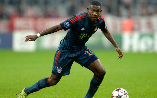 David Alaba Bayern Munich