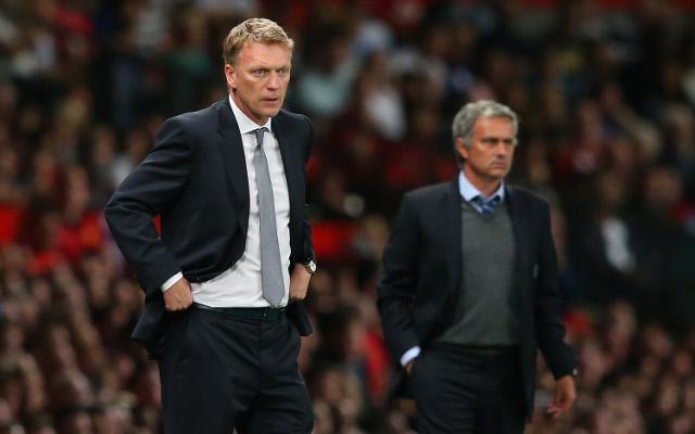 David Moyes Manchester United Jose Mourinho Chelsea