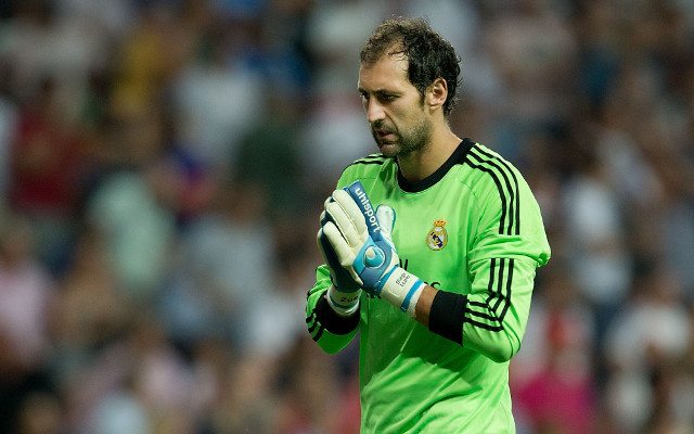 Arsenal to pounce as Real Madrid goalkeeper seeks Bernabeu exit