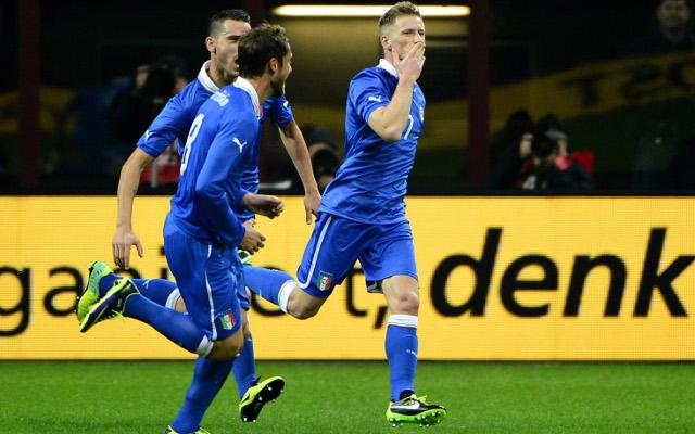 (GIF) Arsenal target Ignazio Abate scores superb golazo for Italy v Germany