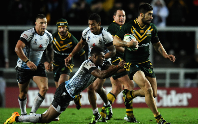 (Video) Australia v Fiji: Full Rugby League World Cup highlights