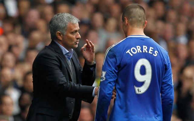 Jose Mourinho Fernando Torres Chelsea